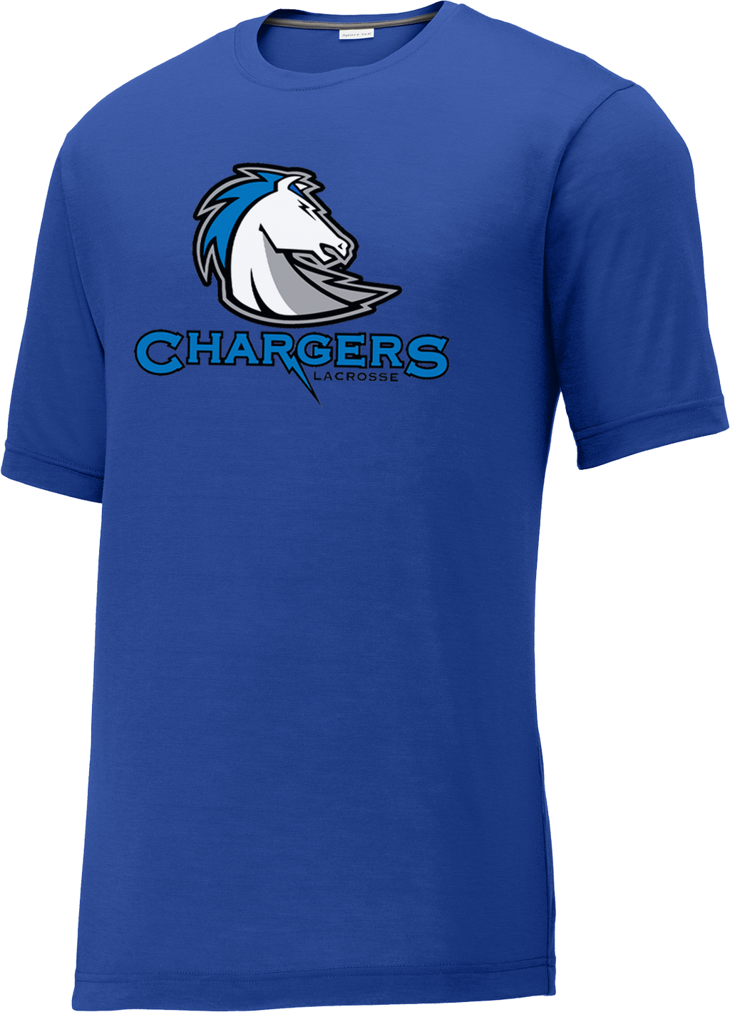 Clear Springs Lacrosse Blue CottonTouch Performance Shirt