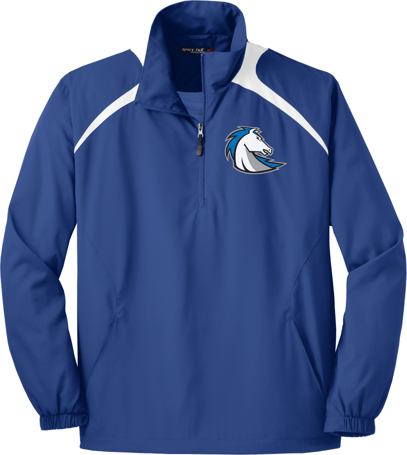 Clear Springs Lacrosse Quarterzip Windbreaker