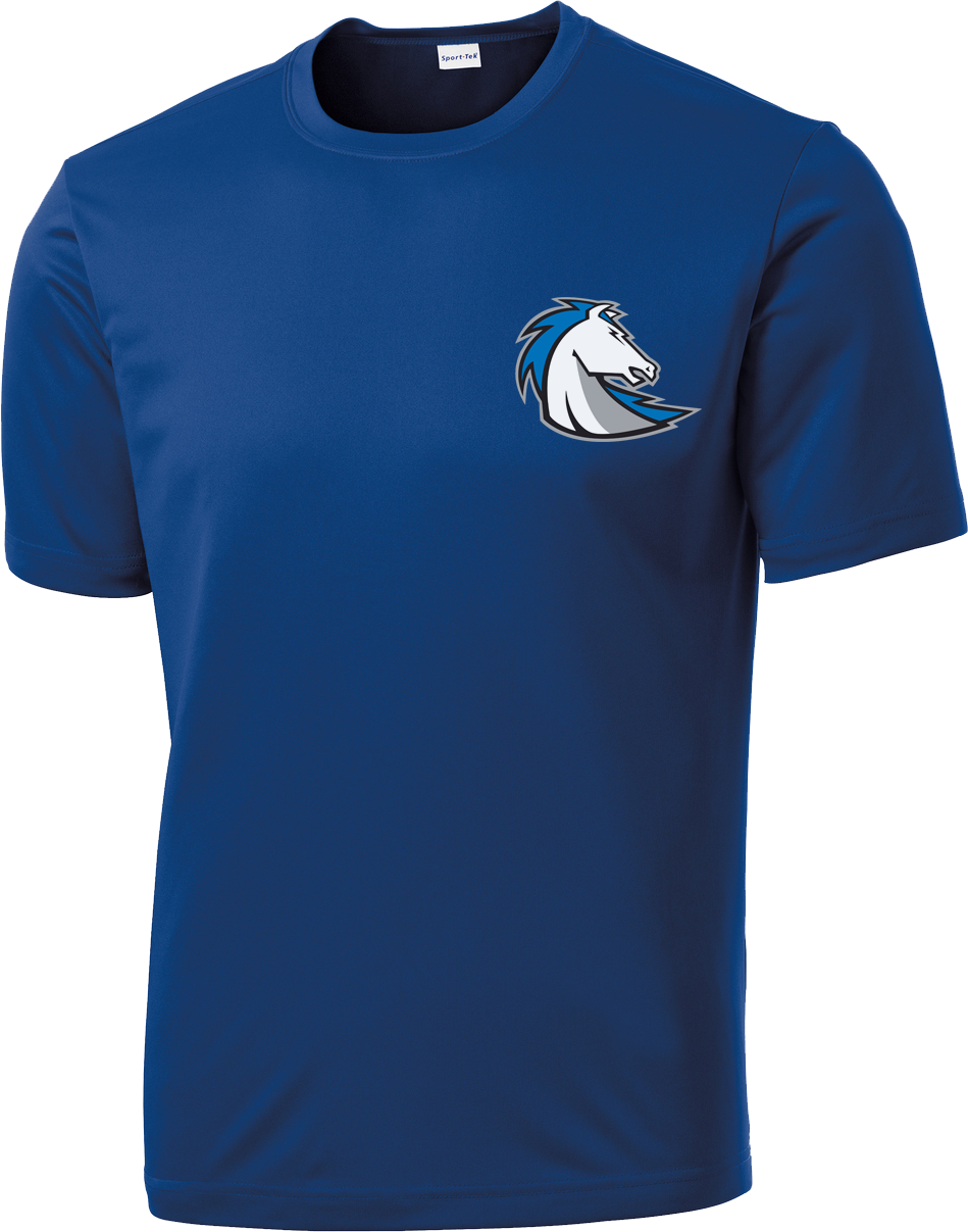 Clear Springs Lacrosse Blue Performance Shirt