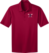 Augusta Patriots Cardinal Red Polo