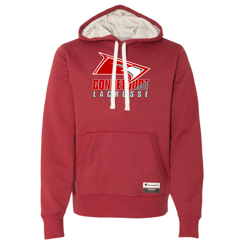 Connetquot Lacrosse Champion Suede Fleece Hoodie