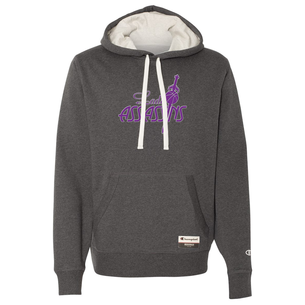 Lady Assassins Basketball Champion Suede Fleece Hoodie