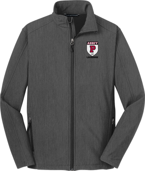 Portsmouth Lacrosse Charcoal Heather Soft Shell Jacket