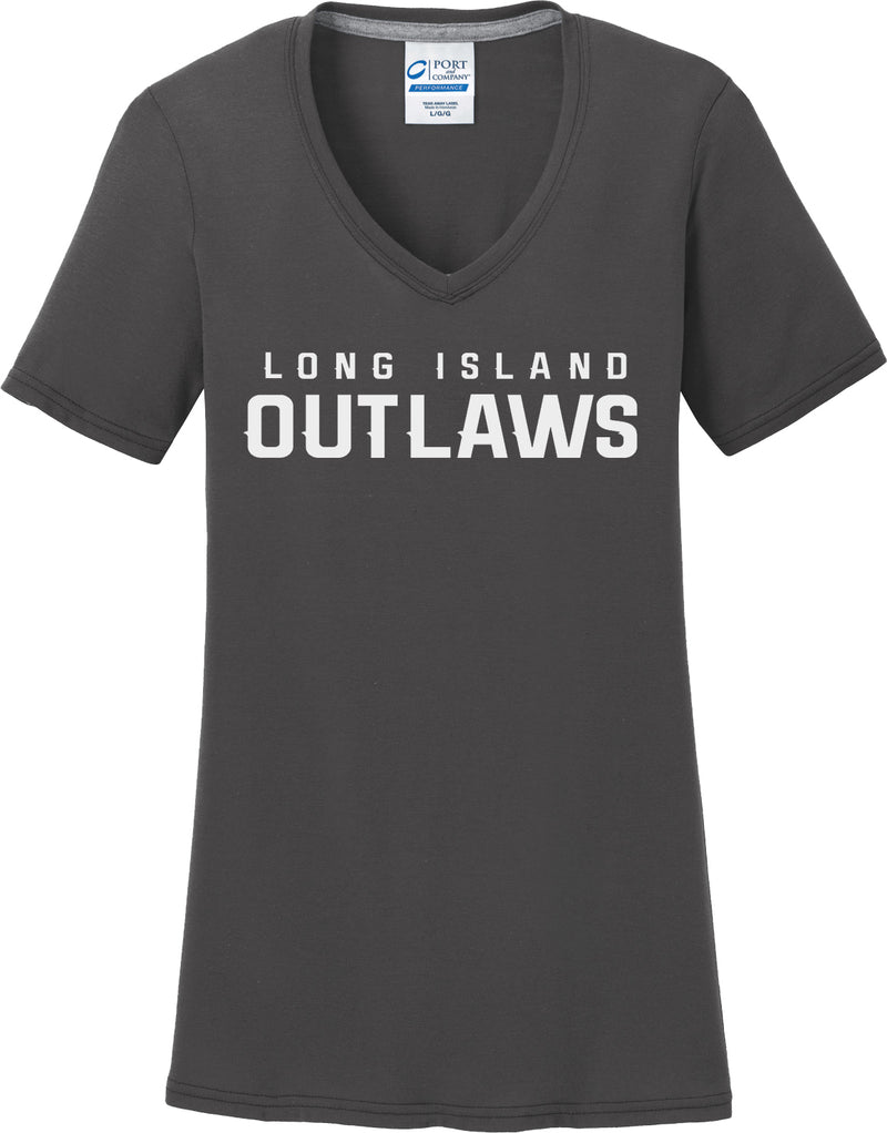 Outlaws Grey Women's T-Shirt