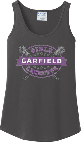 Garfield Women's Charcoal Tank Top