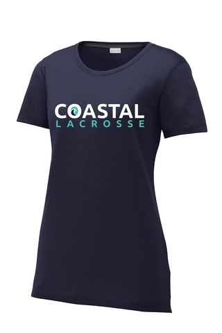 Coastal Lacrosse Women's CottonTouch Performance T-Shirt