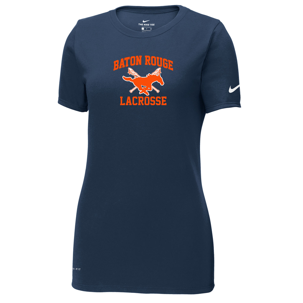 Baton Rouge Mustangs Nike Ladies Dri-FIT Tee