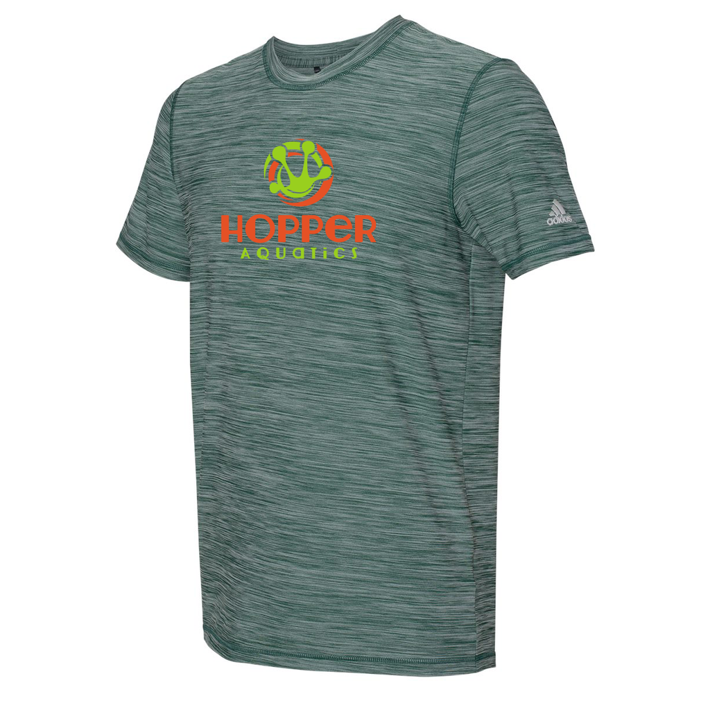 Hopper Aquatics Adidas Melange Tech T-Shirt