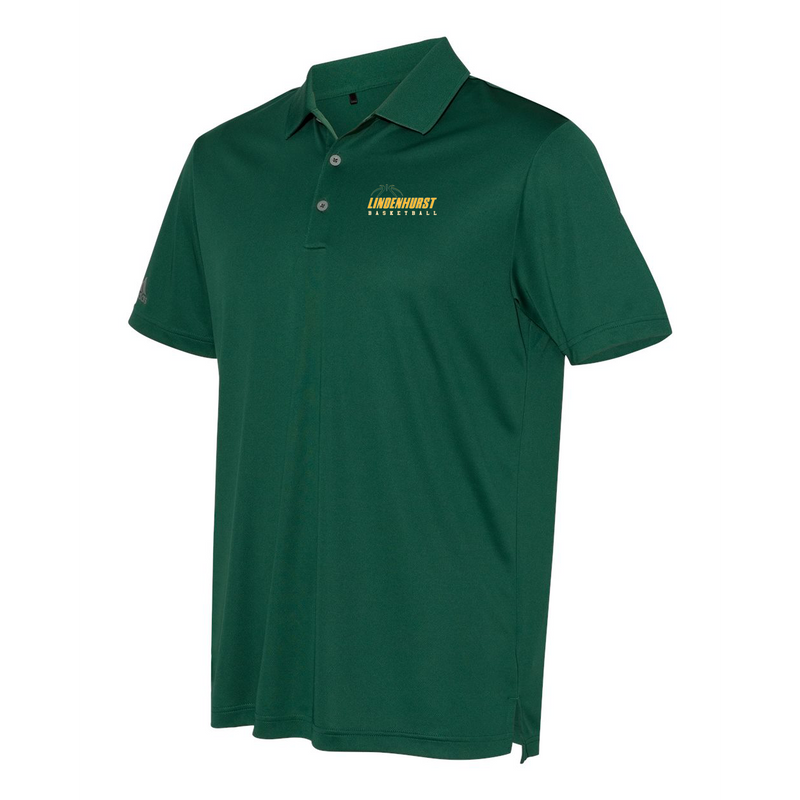 Lindenhurst Basketball Adidas Performance Sport Polo
