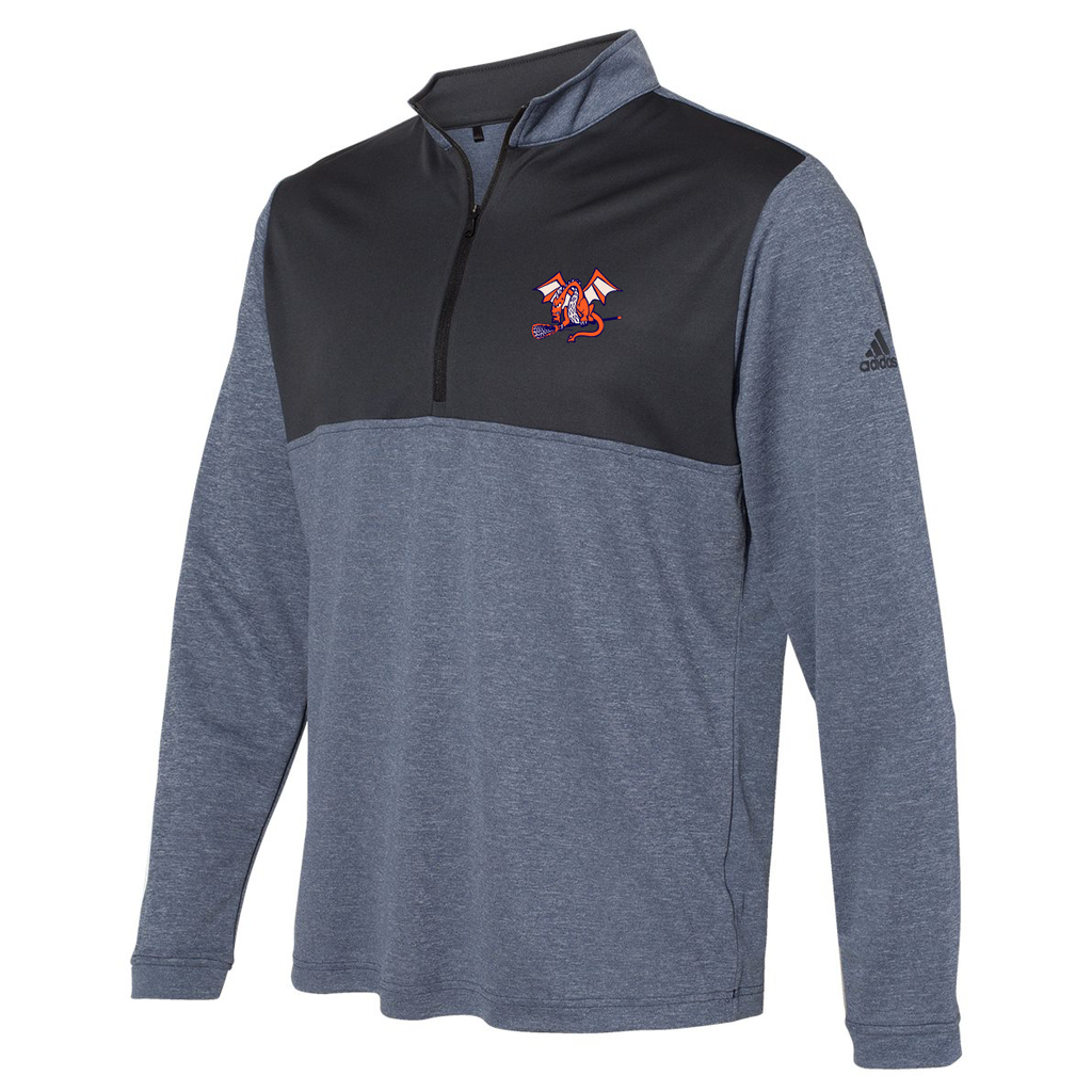 St Petes Dragons Lacrosse Adidas Lightweight Quarterzip Pullover