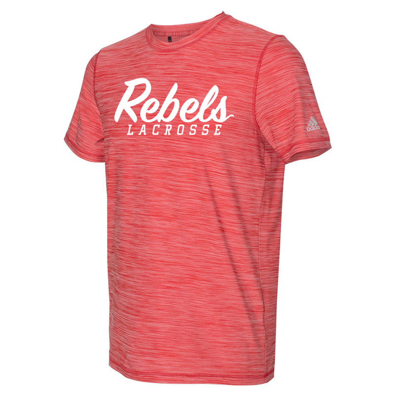 Rebels Lacrosse Adidas Melange Tech T-Shirt