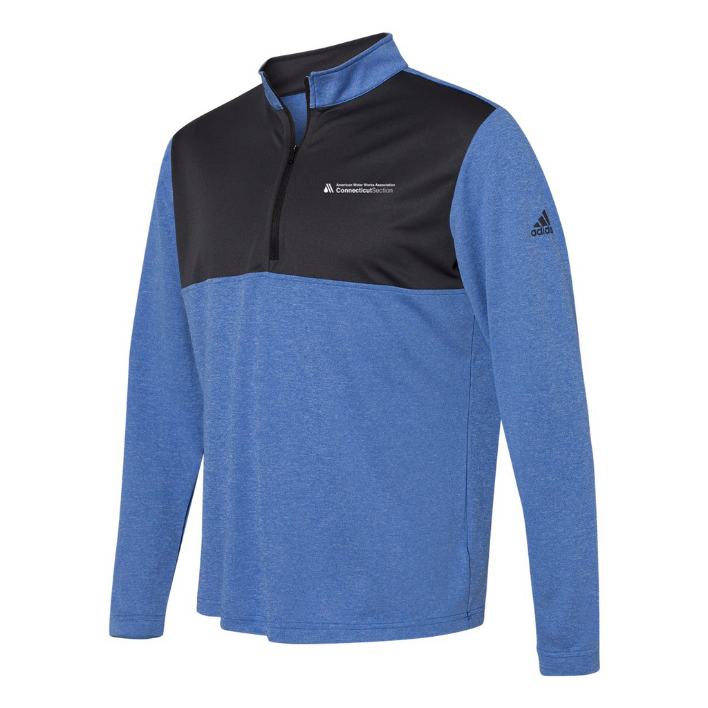 AWWA Connecticut Section Adidas Lightweight Quarterzip Pullover