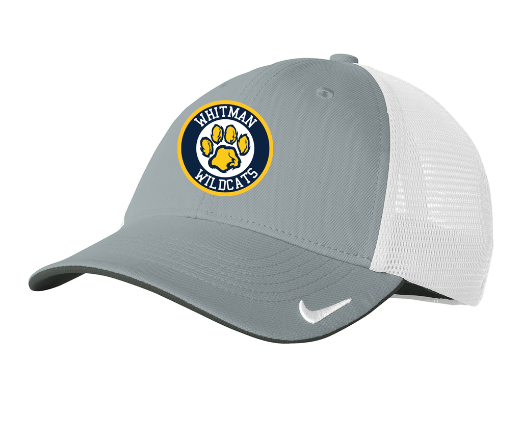 Whitman Wildcats Nike Dri-FIT Mesh Back Cap