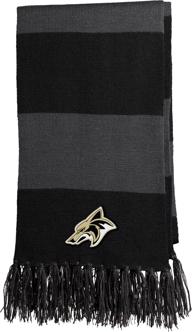 Dane County Lacrosse Black/Grey Team Scarf