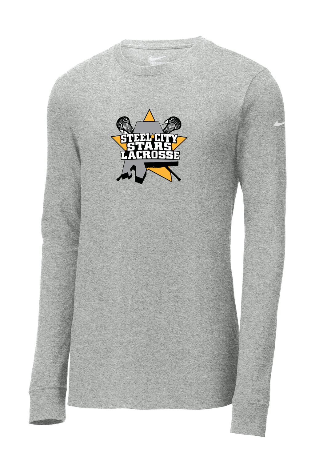 Stars Lacrosse Nike Ladies Core Cotton Long Sleeve Tee