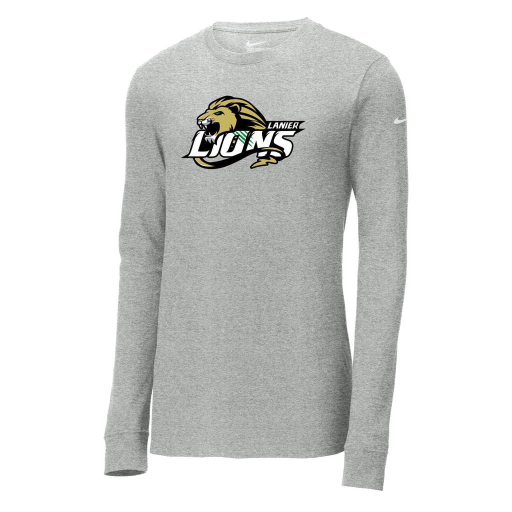 Lanierland Lions Nike Core Cotton Long Sleeve Tee