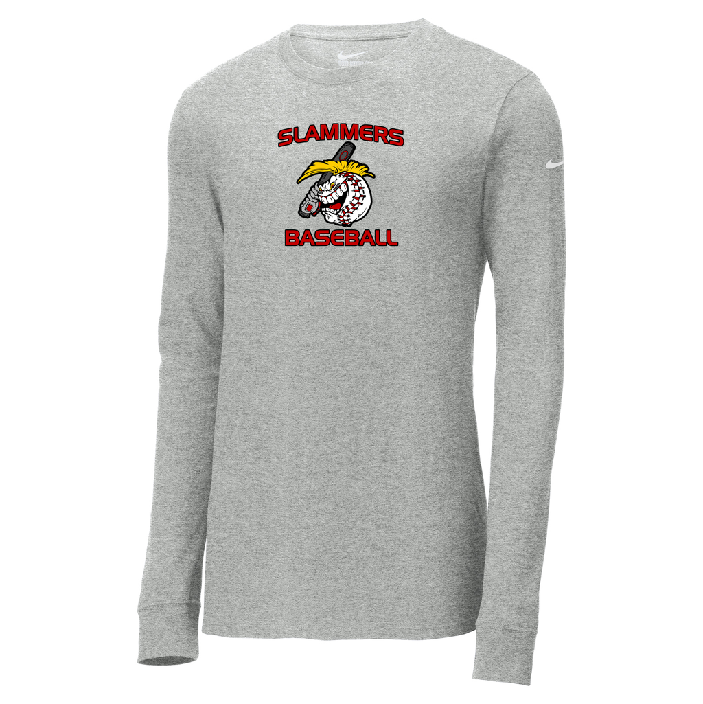 Carolina Slammers Nike Core Cotton Long Sleeve Tee
