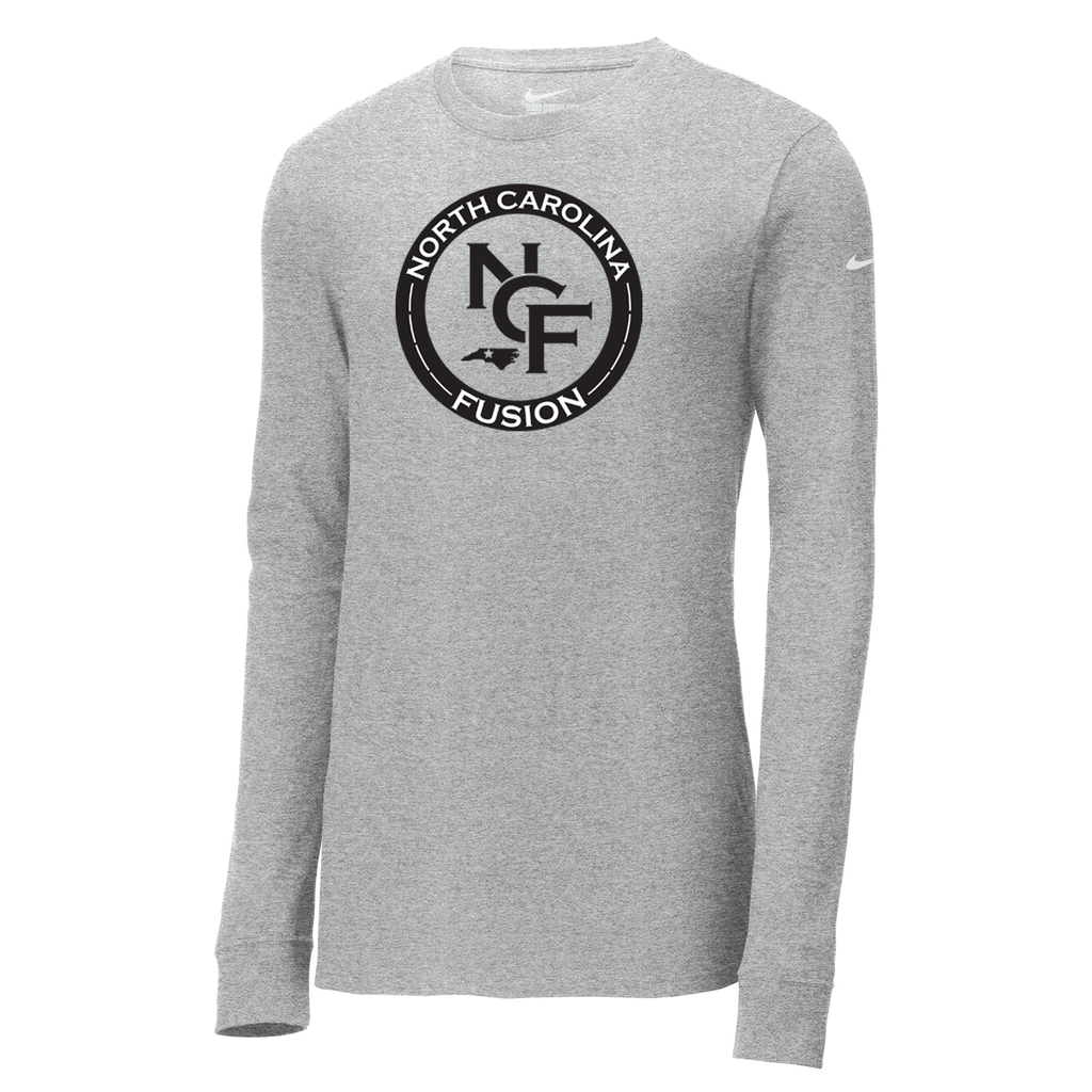 Fusion Lacrosse Nike Core Cotton Long Sleeve Tee