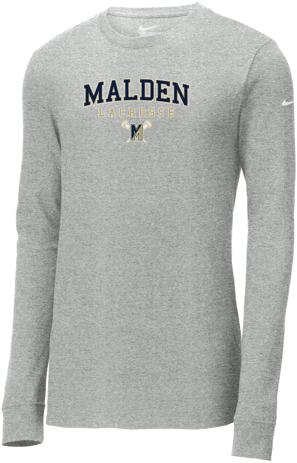 Malden Lacrosse Nike Core Cotton Long Sleeve Tee