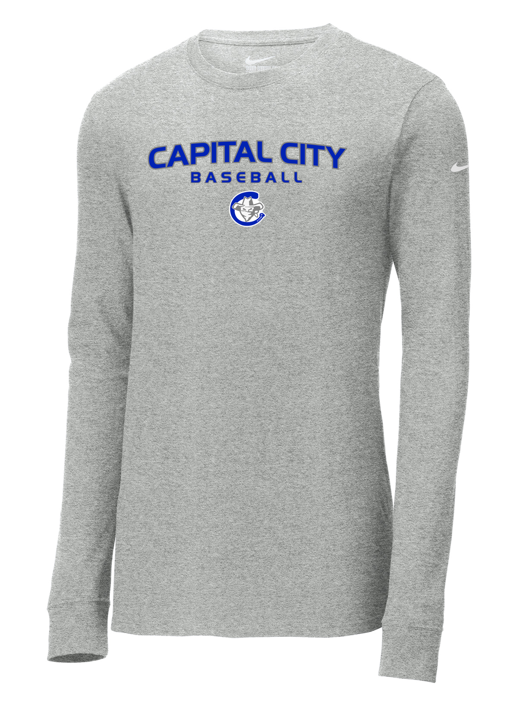 Capital City Baseball Nike Core Cotton Long Sleeve Tee