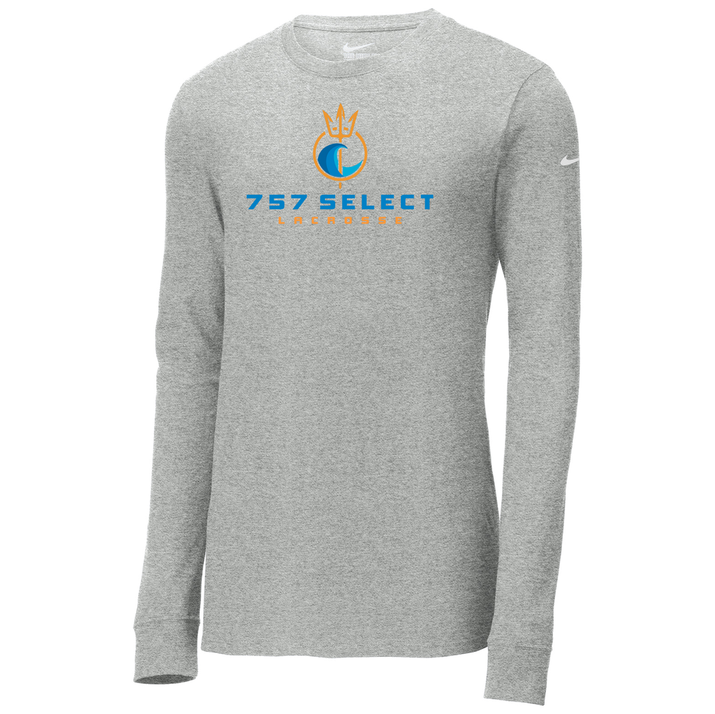 757 Lacrosse Nike Core Cotton Long Sleeve Tee