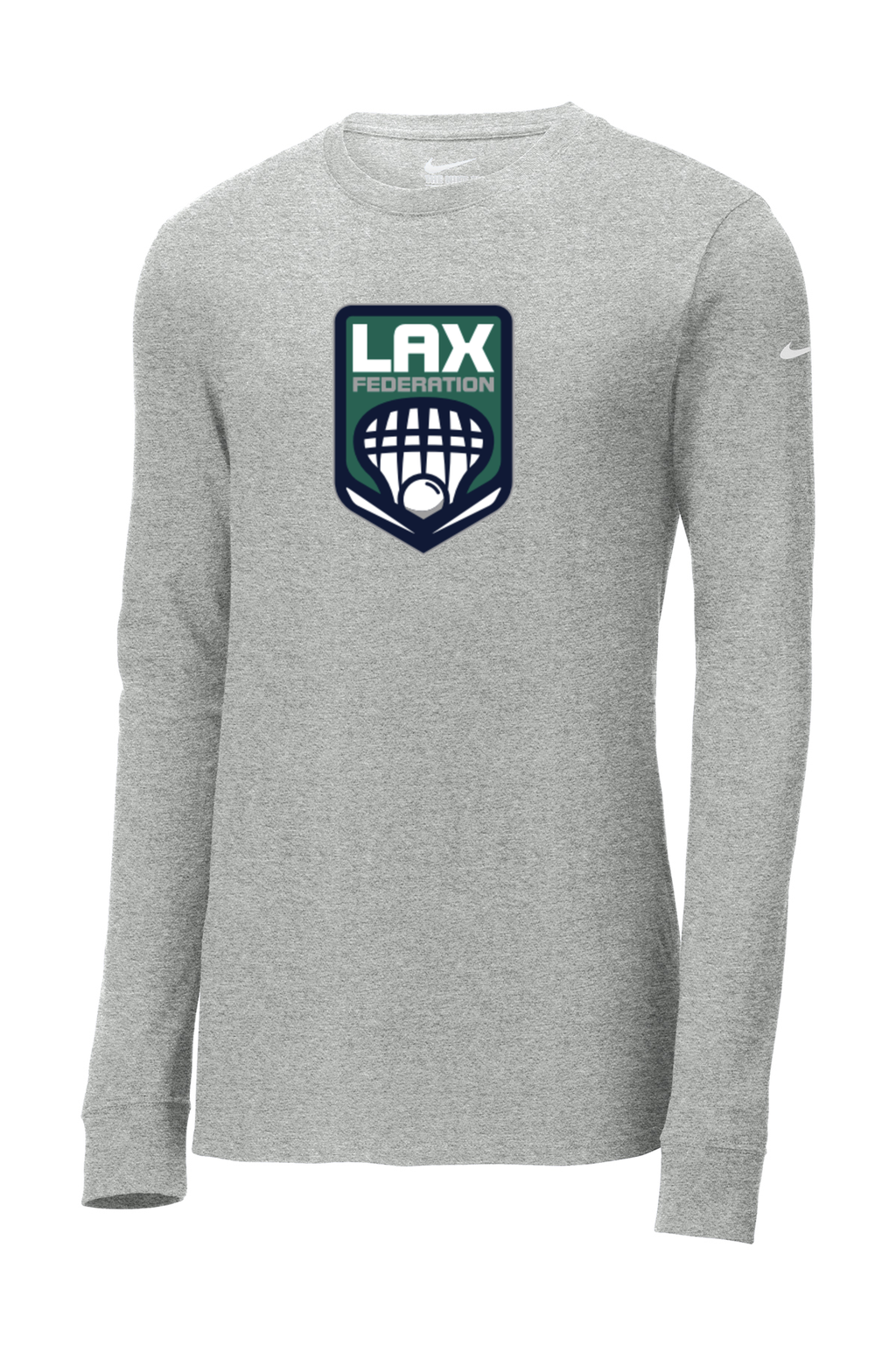 LAX FED Nike Core Cotton Long Sleeve Tee