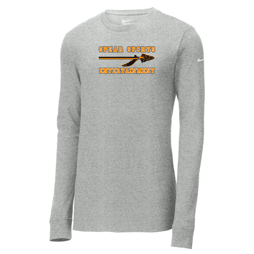 Spear Sports Nike Core Cotton Long Sleeve Tee