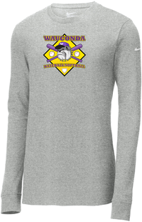 Wauconda Baseball & Softball Nike Core Cotton Long Sleeve Tee