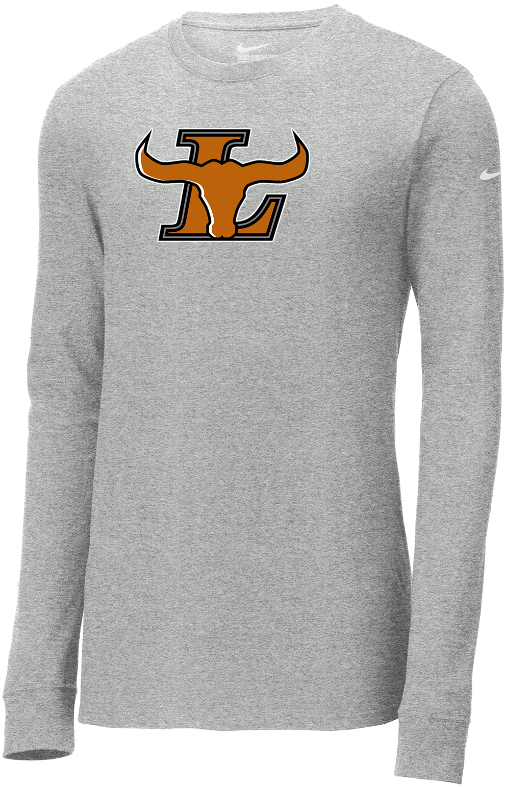 Lanier Baseball Nike Core Cotton Long Sleeve Tee