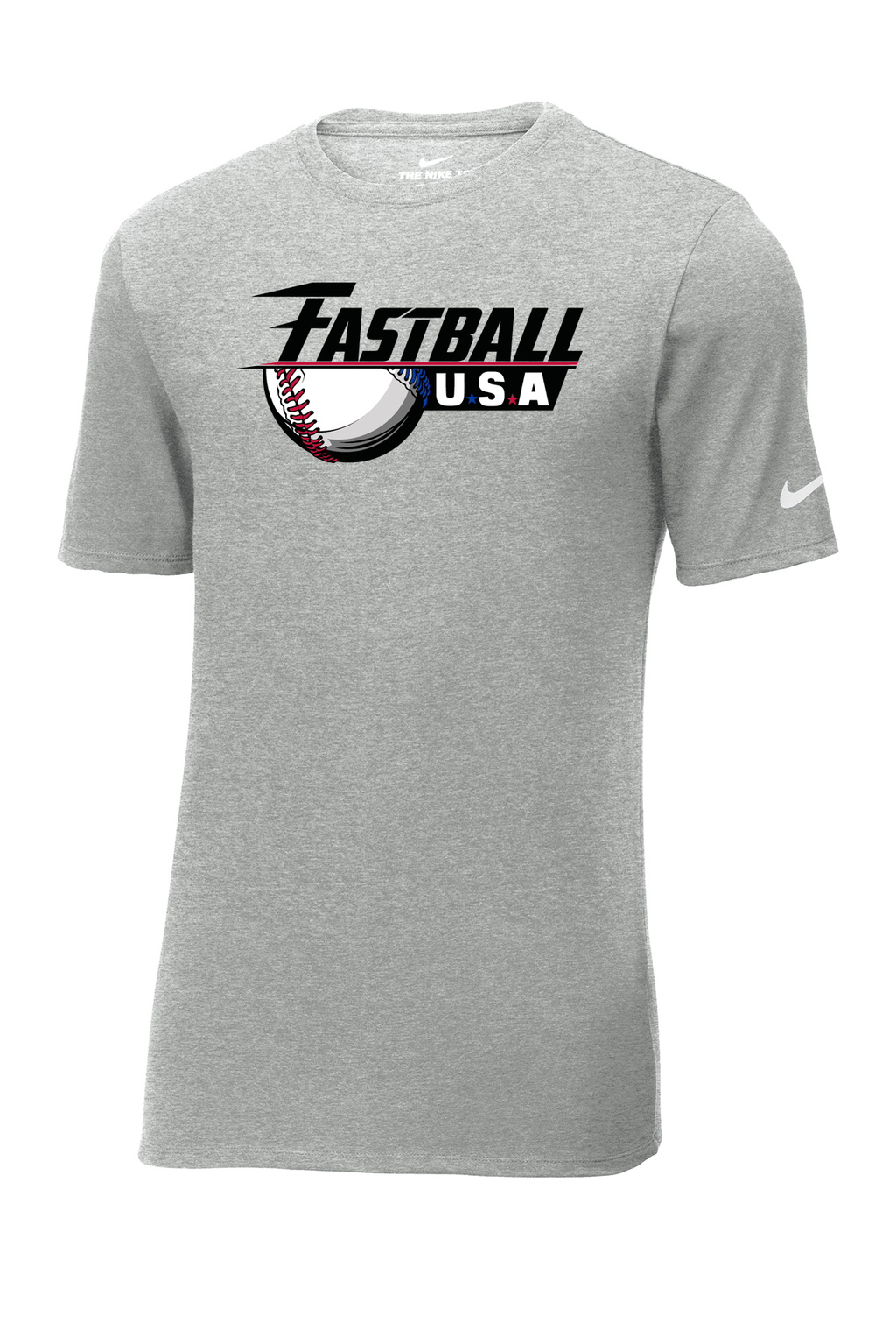 Fastball USA Academy Baseball Nike Core Cotton Tee