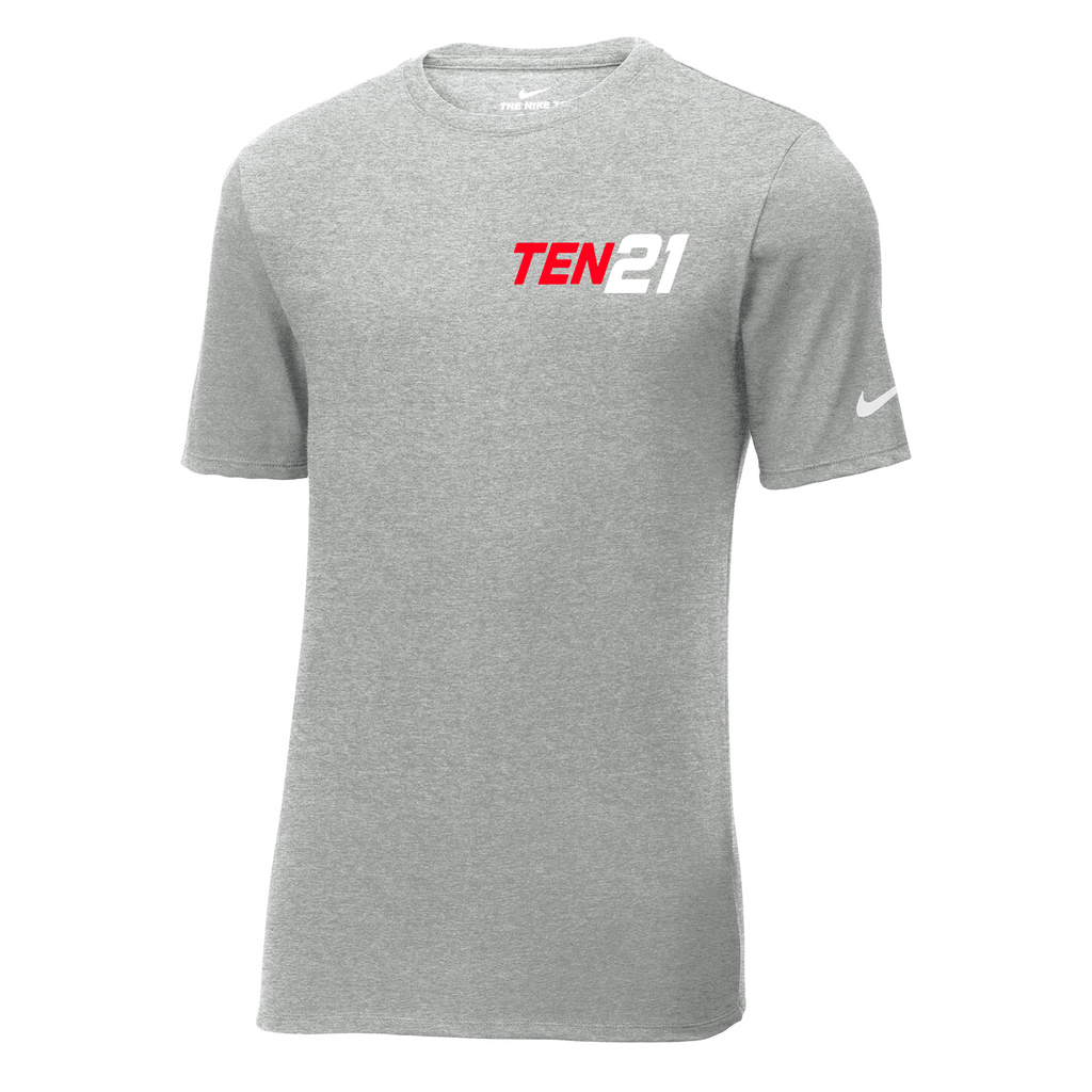 TEN21 Lacrosse Nike Core Cotton Tee