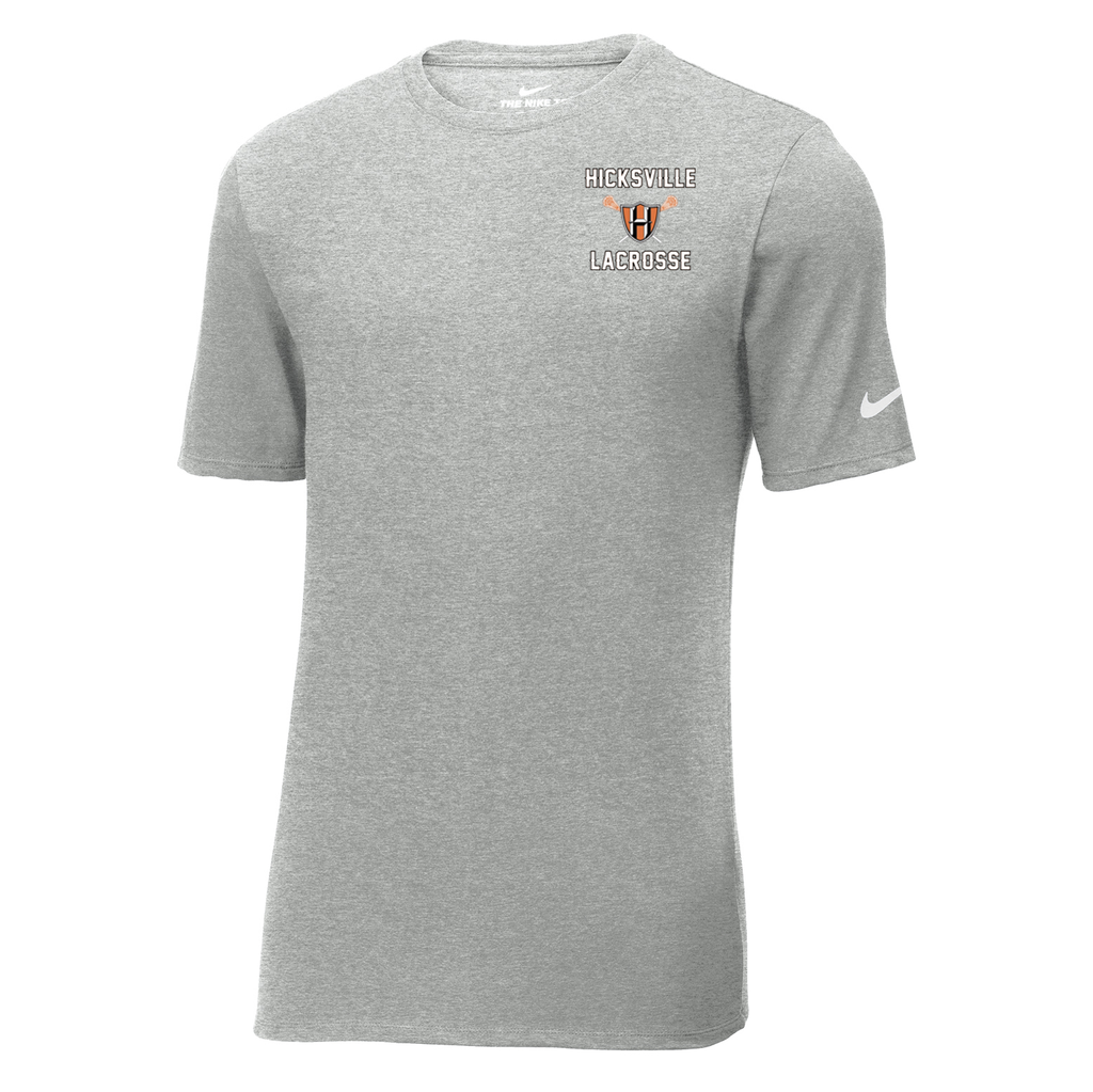 Hicksville Lacrosse  Nike Core Cotton Tee