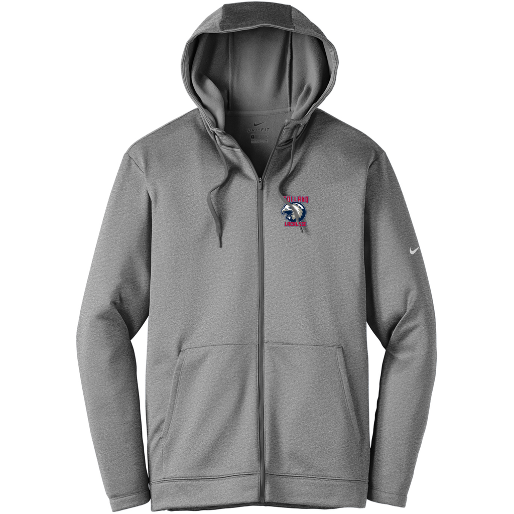 Tolland Lacrosse Club Nike Therma-FIT Full Zip Hoodie