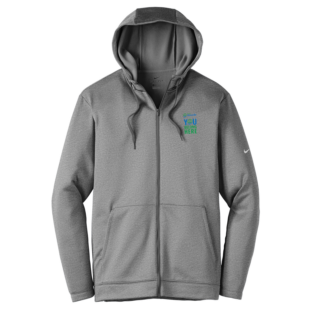 City of Burnsville Nike Therma-FIT Full Zip Hoodie