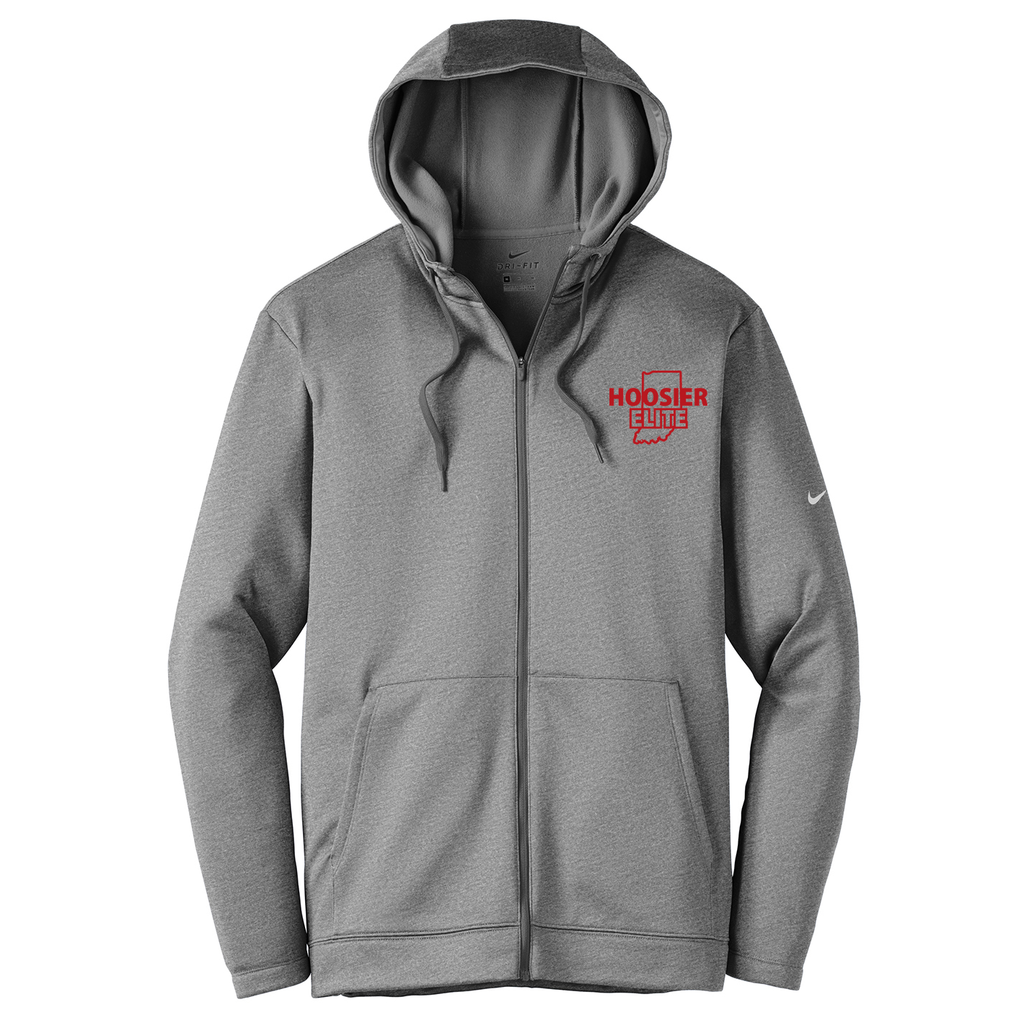 Hoosier Elite Basketball Nike Therma-FIT Full Zip Hoodie