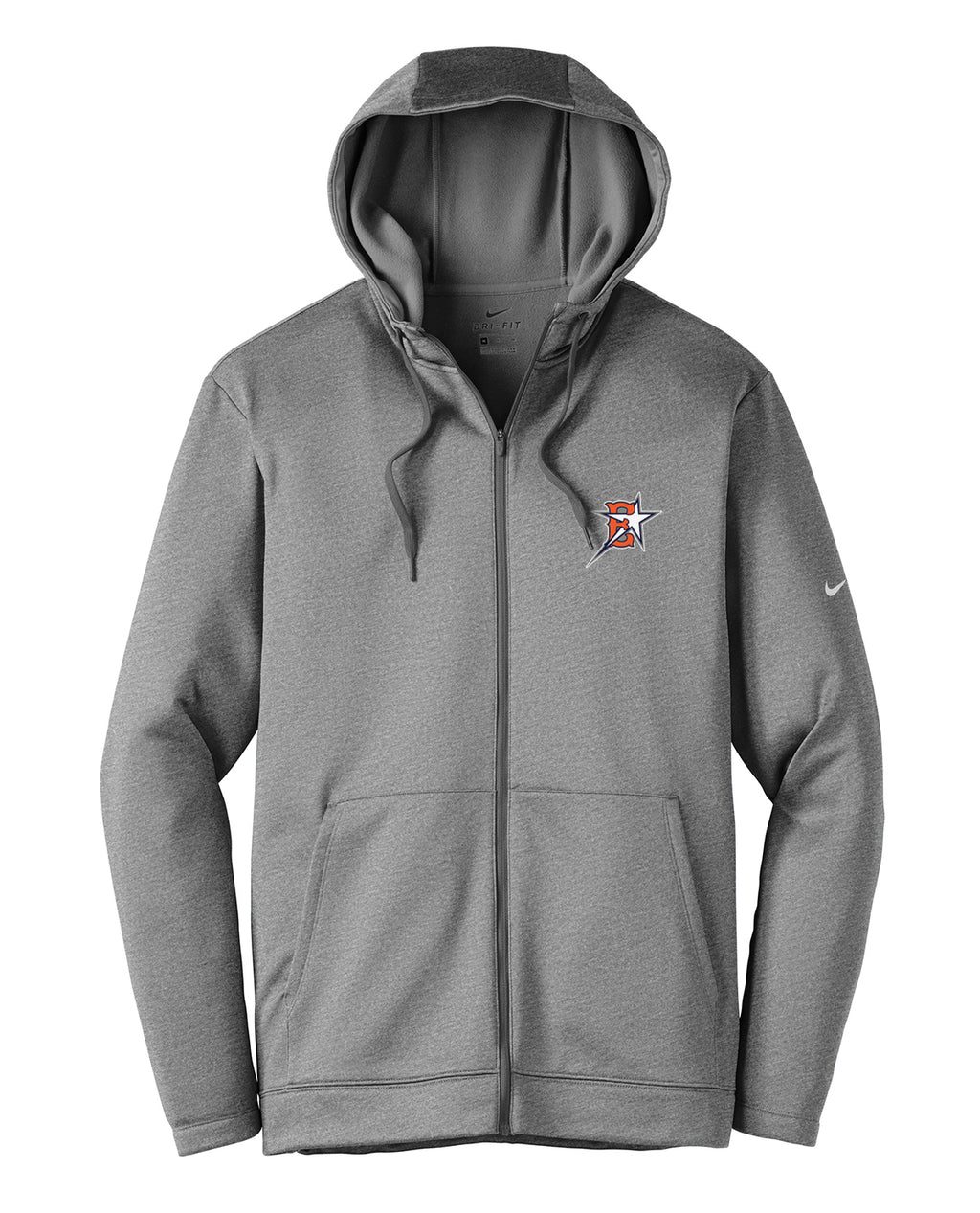 Eastvale Girl's Softball Nike Therma-FIT Full Zip Hoodie