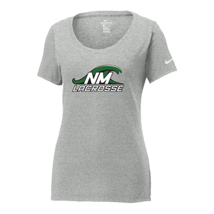 New Milford Youth Lacrosse Nike Ladies Core Cotton Tee