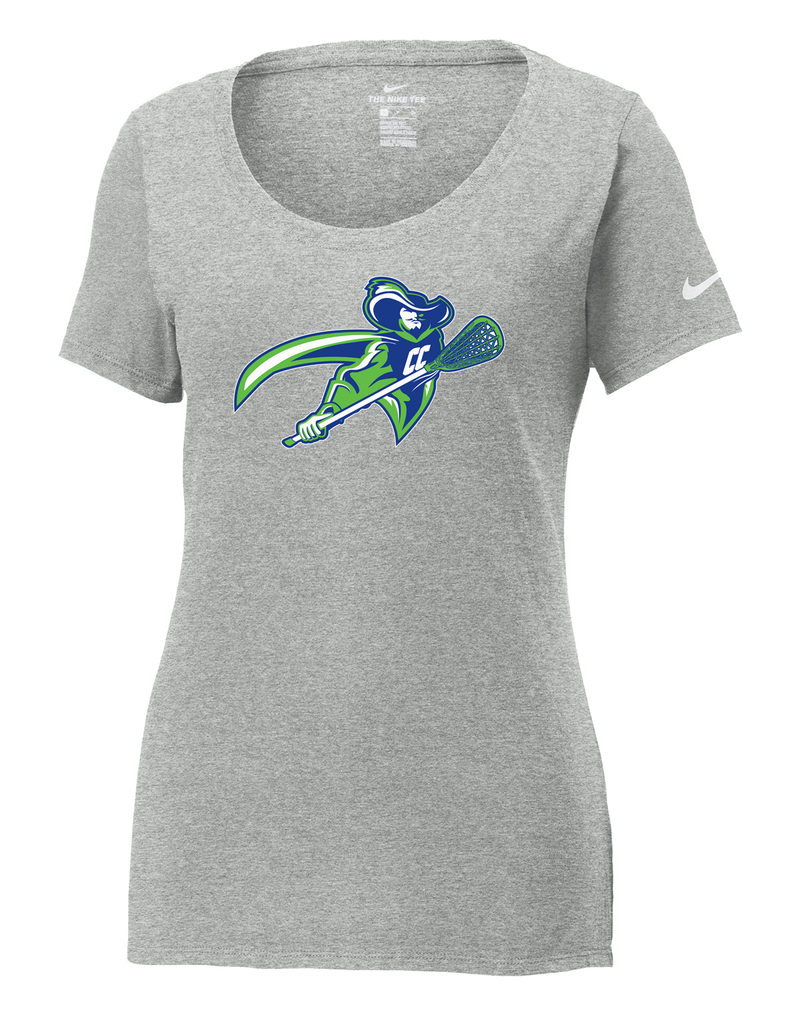 Cavaliers Lacrosse Nike Ladies Core Cotton Tee