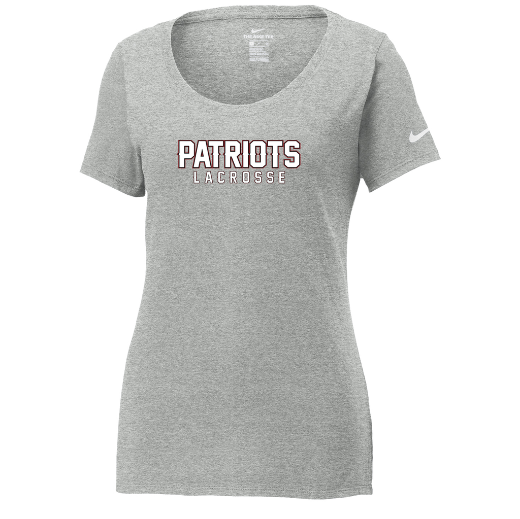 George Washington Lacrosse Nike Ladies Core Cotton Tee
