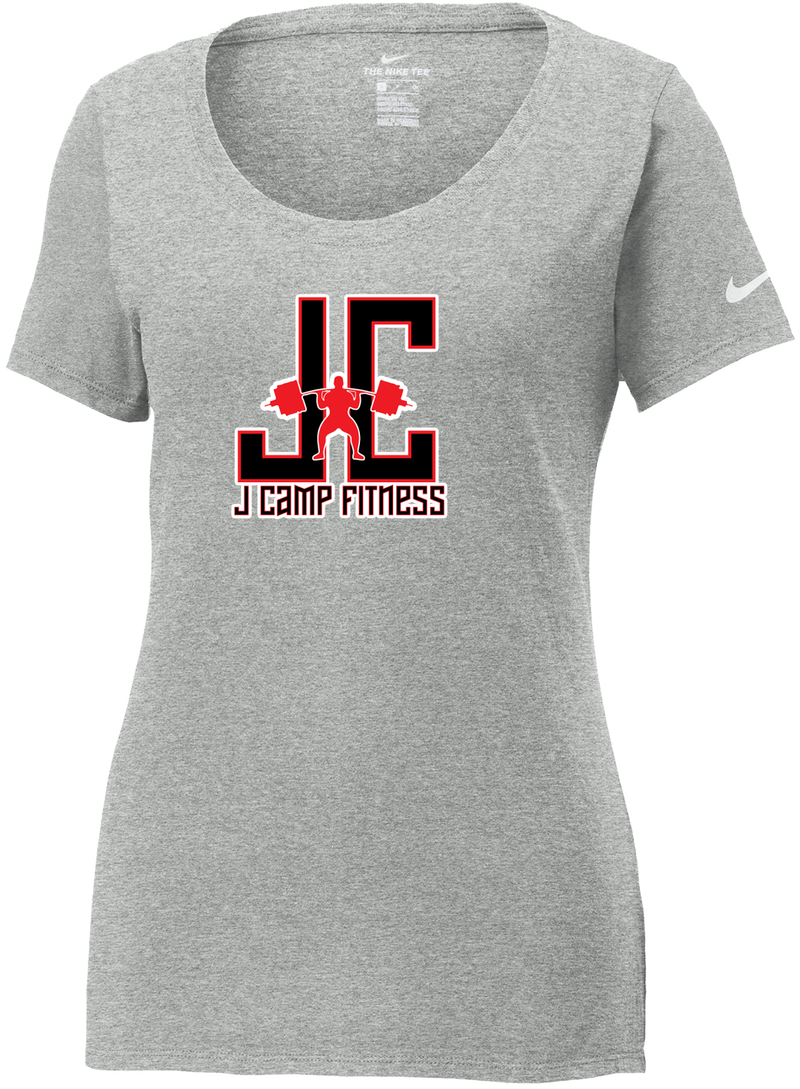 J Camp Fitness Nike Ladies Core Cotton Tee