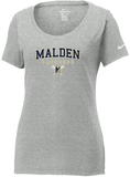 Malden Lacrosse Nike Ladies Core Cotton Tee