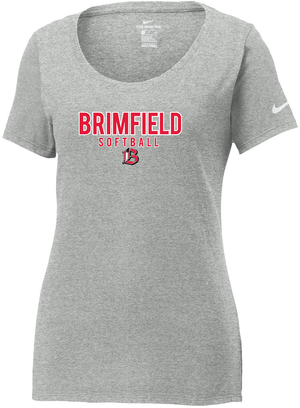 Brimfield Softball Nike Ladies Core Cotton Tee