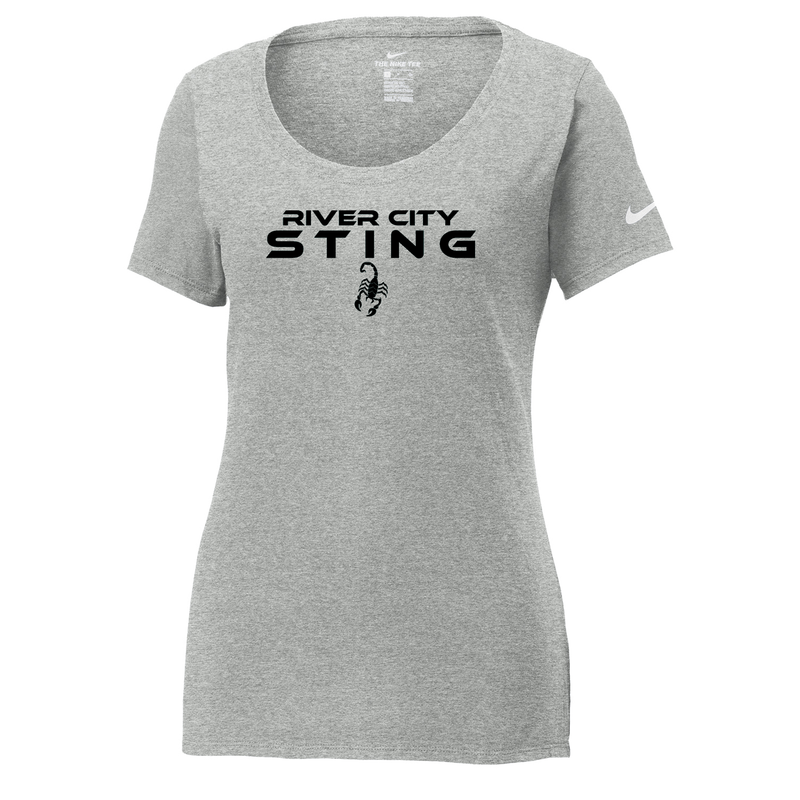 River City Sting Nike Ladies Core Cotton Tee