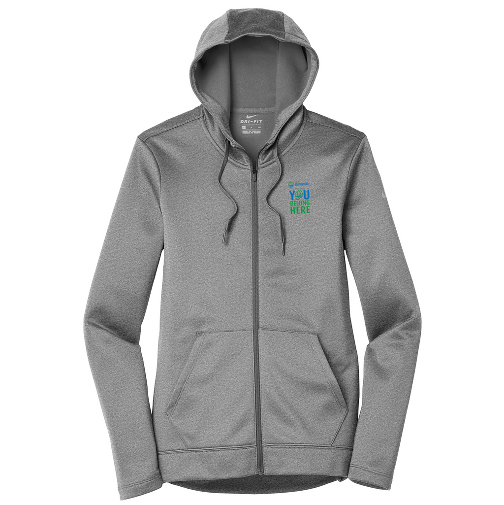 City of Burnsville Nike Ladies Therma-FIT Full Zip Hoodie