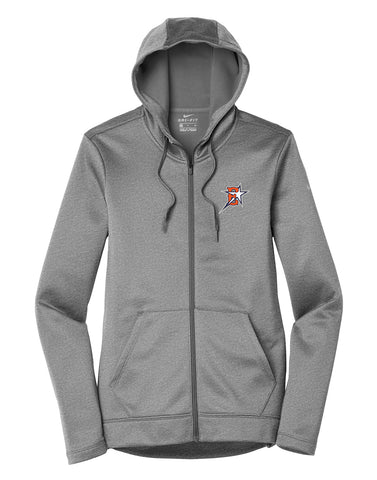 Eastvale Girl's Softball Nike Ladies Therma-FIT Full Zip Hoodie