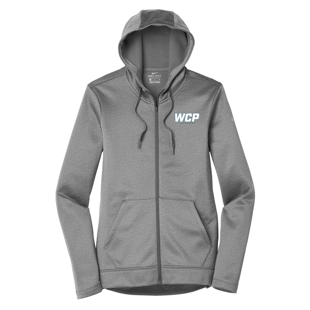 WCP Girls Lacrosse Nike Ladies Therma-FIT Full Zip Hoodie