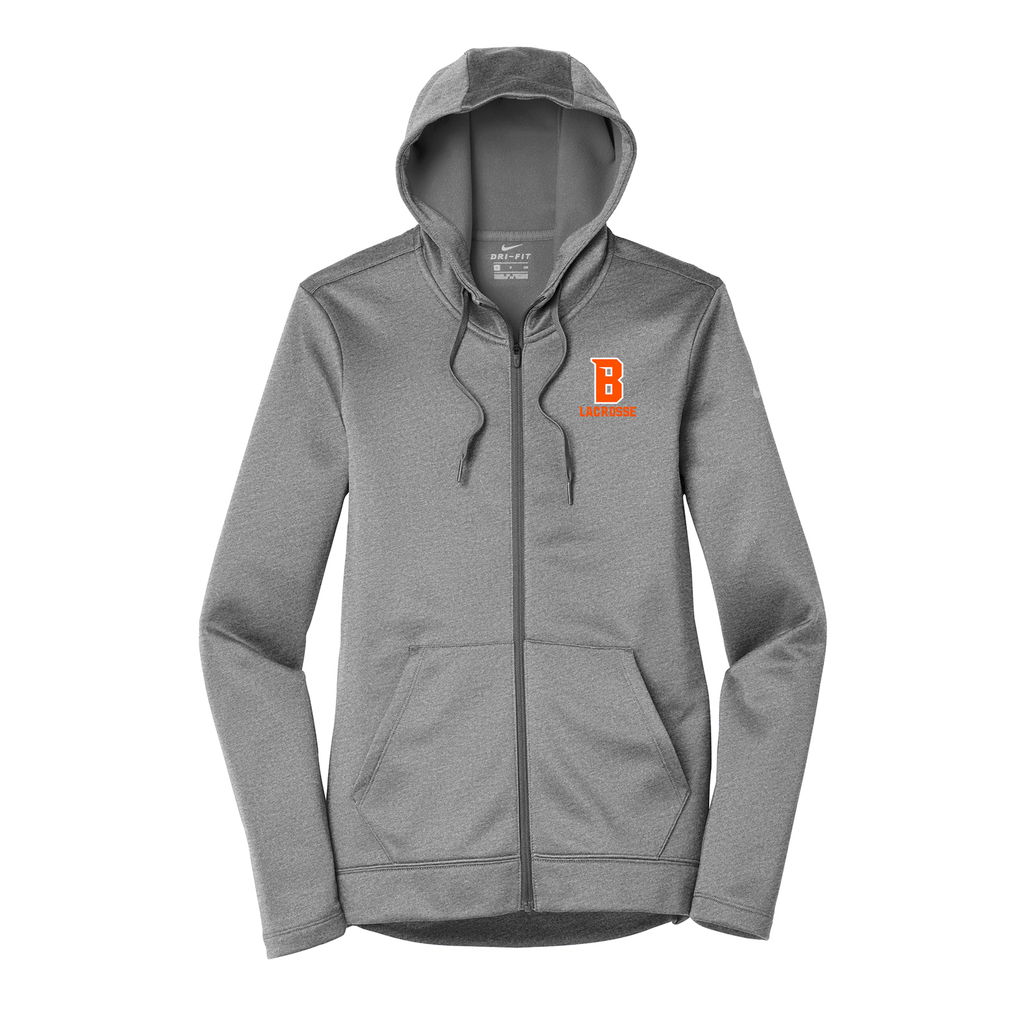 Babylon Lacrosse Nike Ladies Therma-FIT Full Zip Hoodie