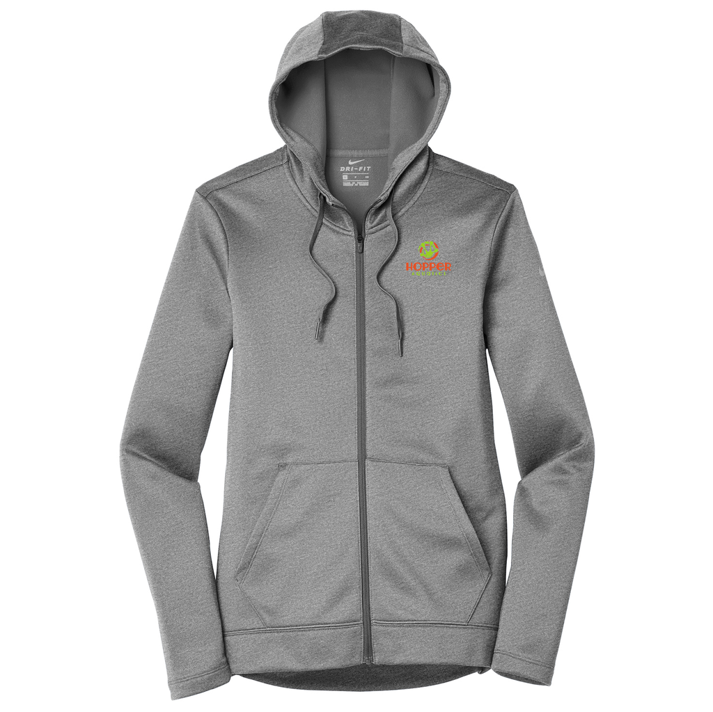 Hopper Aquatics Nike Ladies Therma-FIT Full Zip Hoodie
