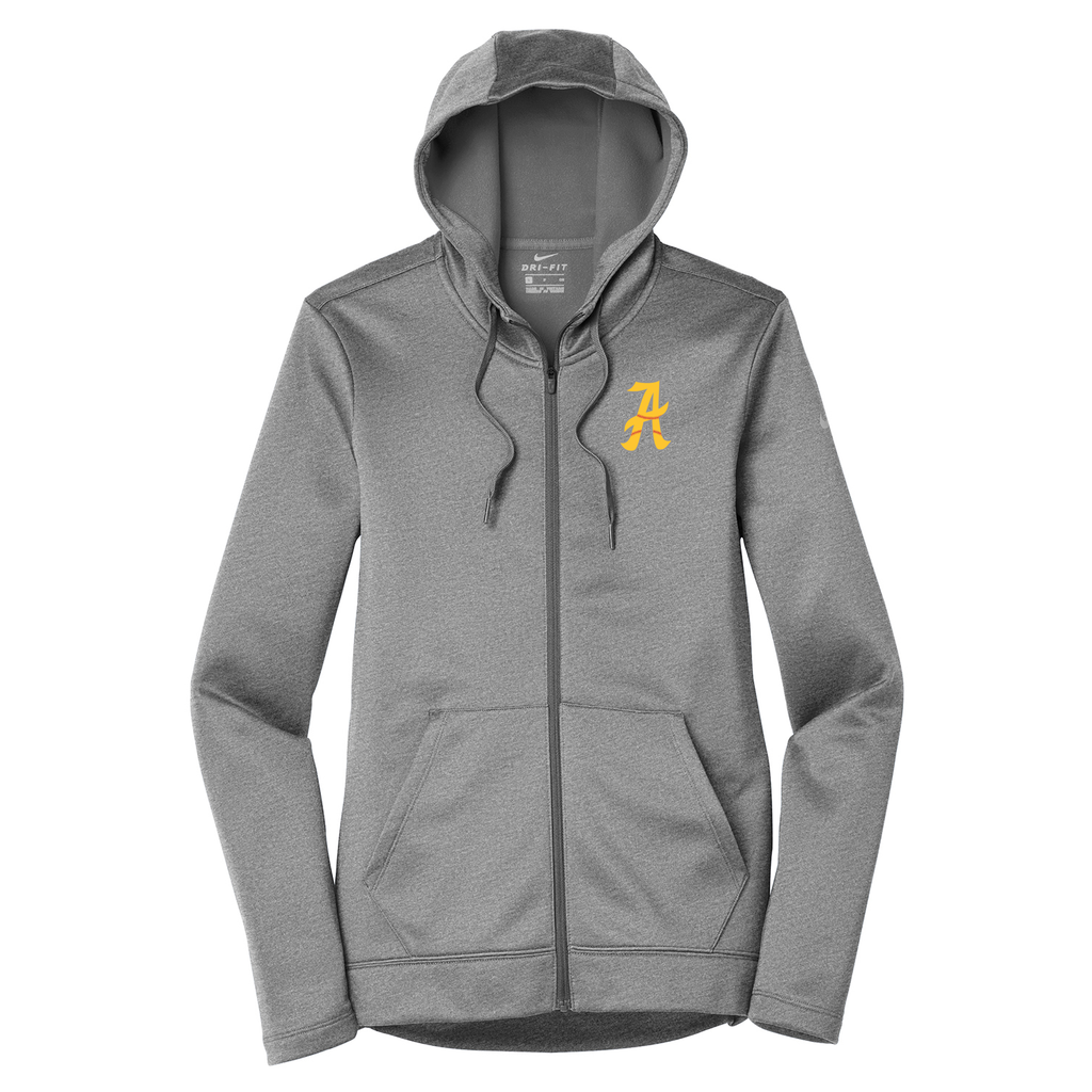 Amherst Softball Nike Ladies Therma-FIT Full Zip Hoodie