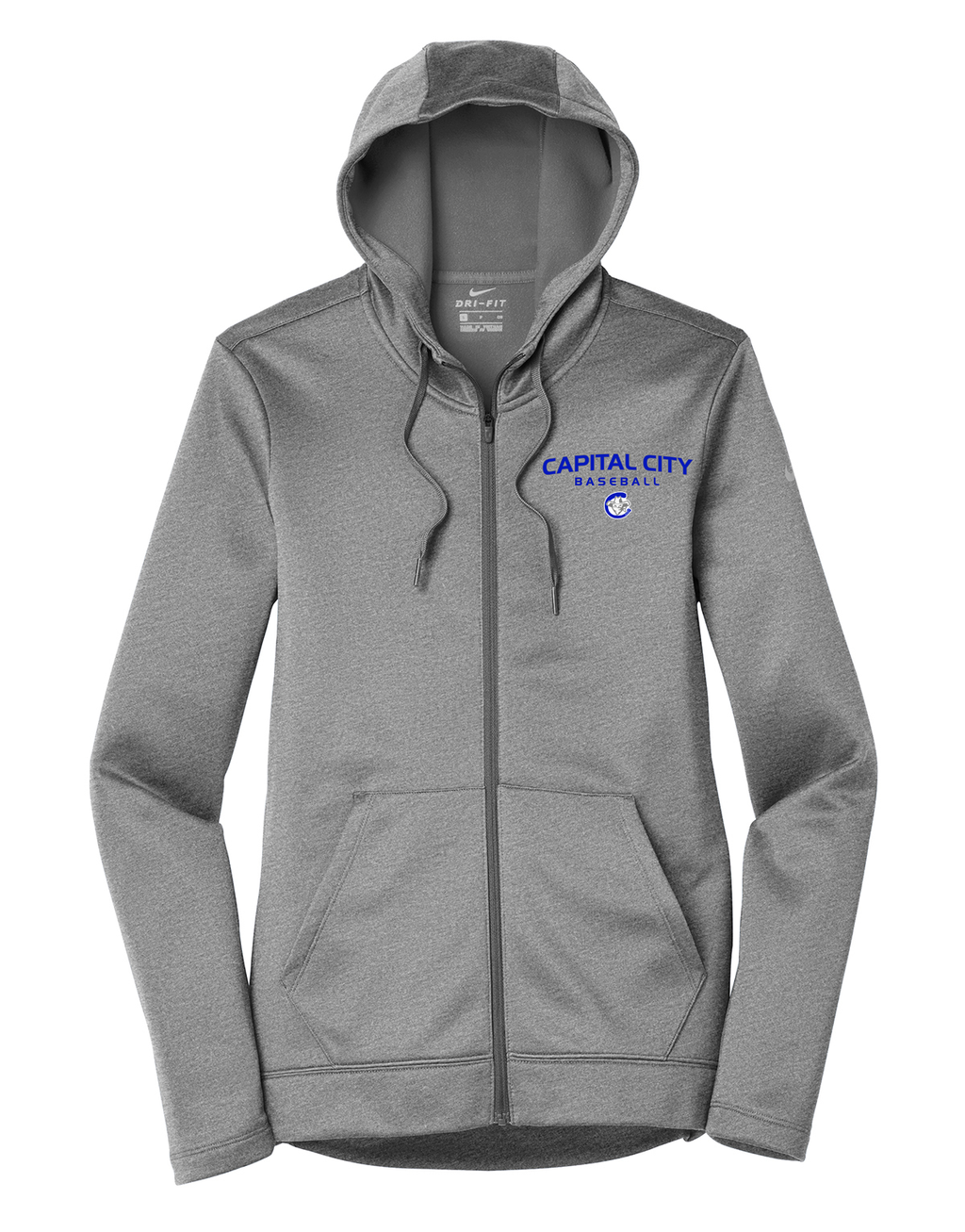 Capital City Baseball Nike Ladies Therma-FIT Full Zip Hoodie